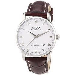 Mido Reloj Analógico Automático para Hombre con Correa de Piel – M86004268