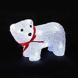 Ours sur 4 pattes lumineux à LED