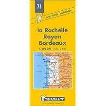 Carte routière : La Rochelle - Royan - Bordeaux, 71, 1/200000
