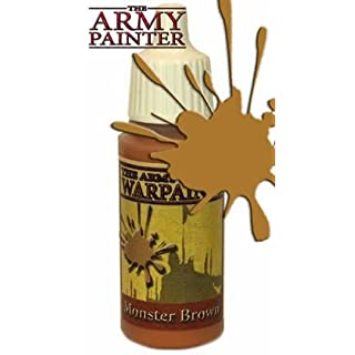 Army Painter 1120 - Acrylfarbe, zum Bemalen, monster brown