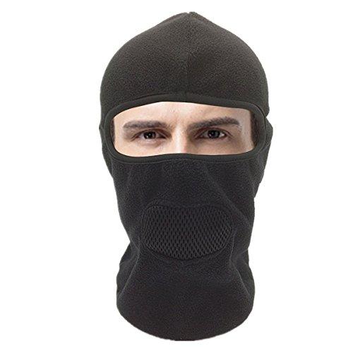 Winter Windproof Ski Face Scarf Mask Hat Warm Fleece Thicken Windproof Headwear Neck For Outdoors
