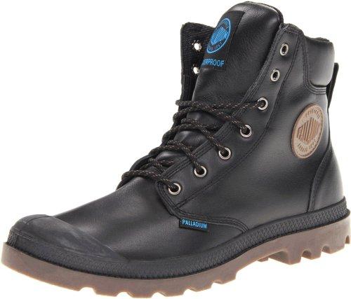 Palladium Pampa Sport Cuff WP, chaussures bateau mixte adulte Noir - Schwarz (Black/Dark Gum)