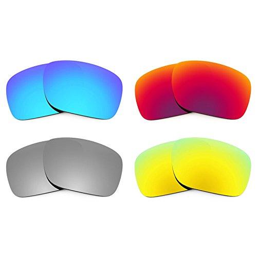 Revant Ersatzlinsen für Oakley Holbrook Polarisiert 4 Paar Kombipack K020 (Holbrook Oakley Ersatz)