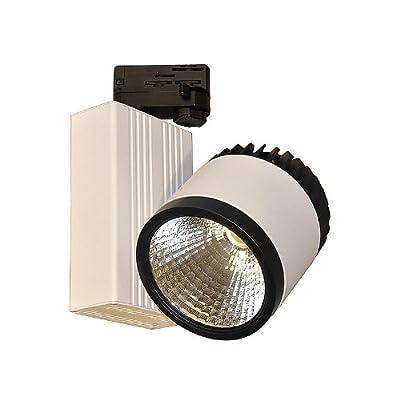 CLE LED Epistar Stromschienenstrahler XFST139L LED 35W 3000K weiß von CARDANLIGHT EUROPE - Lampenhans.de