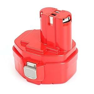 REEXBON Makita 14.4V Battery PA14 1420 3.0Ah NIMH Battery ...