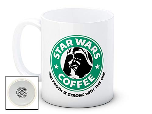 Star Wars Darth Vader - The Froth is Strong With This One - Humoristique de haute qualité café thé tasse