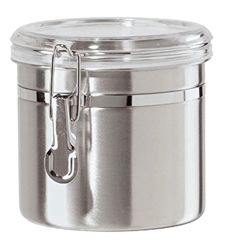 Airtight Canister in Stainless Steel 42 oz by OGGI by