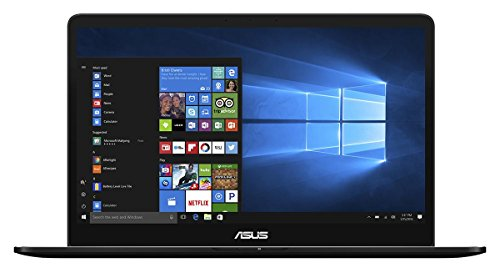 Asus Zenbook Pro 90NB0ET2-M01330 39,62 cm (15,6 Zoll mattes FHD) Notebook (Intel Core i7-7700HQ, 16GB RAM, 512GB SSD, NVIDIA Geforce GTX1050, Win 10 Home) schwarz
