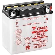 YUASA - 61368 : Batería Yuasa YB7L-B Combipack (con electrolito)