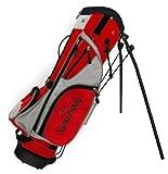 Spalding Sac de golf trépied Junior Noir/rouge/blanc