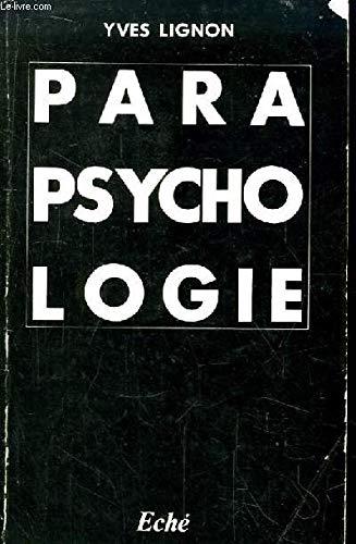Introduction à la parapsychologie scientifique