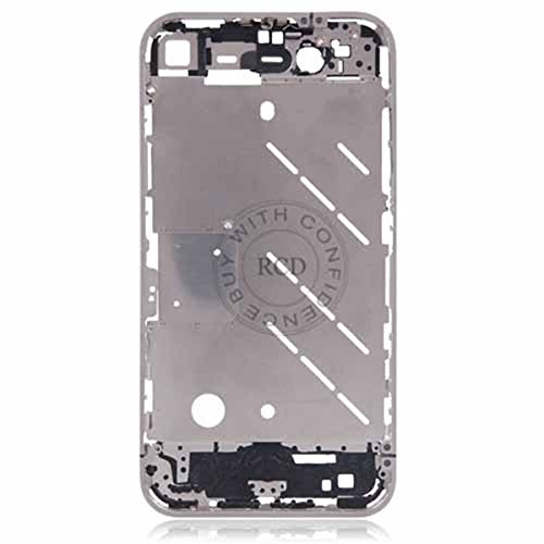 PhoneWiz 100% OEM Chassis New Full Parts Middle Frame Bezel Assembly Midframe Housing For iPhone 4 4G Replacement parts YXF00268 Middle Housing Assembly