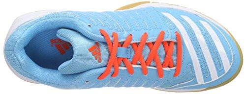 Damen bright Red Adidas Blau Cyan Handballschuhe Essence solar 12 bright Cyan qqaEUH