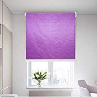 King Queen Interior Roller Shades Curtain With Beaded Chain Size 150X200 cm - Purple