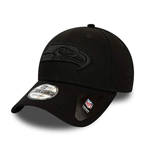 New Era Seattle Seahawks 9forty Adjustable Cap Bob Edition Black/Black - One-Size (Nike Seahawks Herren Trikot)