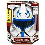 Star Wars Captain Rex elektronischer Helm mit Sprechfunktion**kompletter Helm**qualitativ sehr hochwertig**Orginal Clone Wars**Sammlerstueck**bitte Lieferzeiten auf meiner Seite beachten**