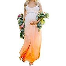 Traje Para Premamá Vestido para mujeres Embarazadas Arte De Maternidad Accesorios de Fotografía(Degradado de color)