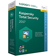 Kaspersky Total Security 2017 Upgrade | 3 Geräte  | 1 Jahr | PC/Mac/Android | Download