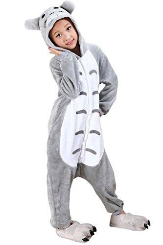 Auspicious beginning Pyjamas pour enfants Totoro pour cosplay dessin animé Costumes Kigurumi