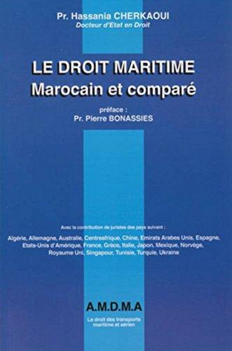 Le droit maritime comparé par Hassania pr Cherkaoui