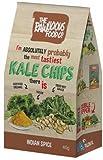 RawLicious RawLicious Grünkohl Chips, Bio, Roh, 40g Indian Spice Twist