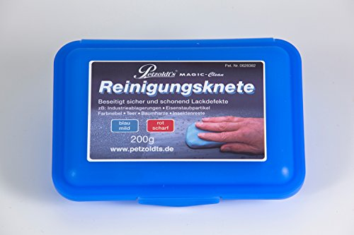 Petzoldt's Profi-Reinigungsknete MAGIC-Clean, Blau, 200 Gramm