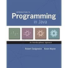 [(Introduction to Programming in Java : An Interdisciplinary Approach)] [By (author) Robert Sedgewick ] published on (August, 2007)
