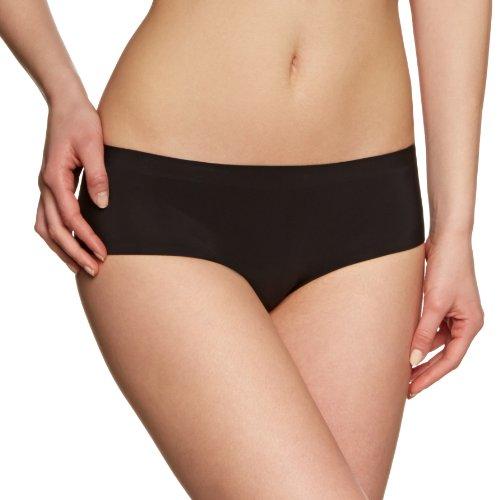 Sloggi Damen Slip sloggi Invisible Supr Hip (1NF76), Gr. 38, Schwarz (BLACK (04)) (Shape Hipster-panty)