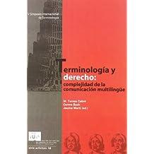 Terminología Y Derecho (IULA (UPF))
