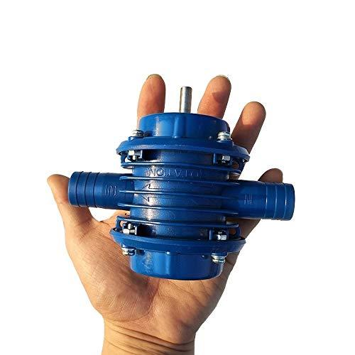 VIOY Miniatur selbstansaugende Pumpe DC-Pumpmaschine Haushalt klein,Blau,Einheitsgröße