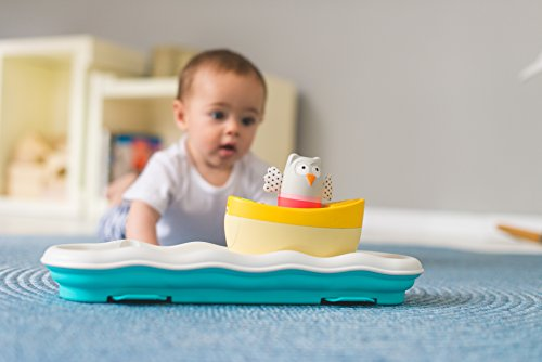 Taf Toys 3 in 1 Musical Boat Cot Toy and Soother