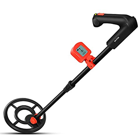 Easy to Operate LCD Metal Detector for Children and Adults , Sound Mode, LCD Alert, Light Weight, Perfect for Beginners, Find Artifacts, Coins,