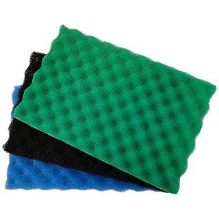 All Pond Solutions Ersatz-Filtermatten-Set für Gartenteich, mittelgroß, ca. 43,2x 27,9cm