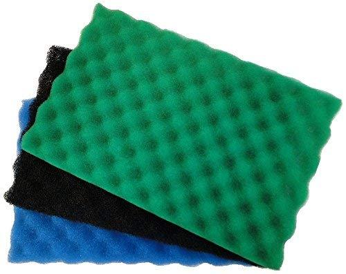All Pond Solutions - Juego de filtros de Repuesto para Estanque de Peces de jardín, tamaño Mediano, 43,18 x 27,9 cm