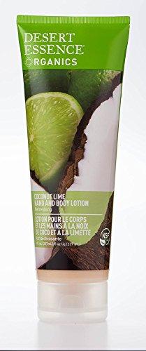 Lotion noix de coco/citron vert, raffraîchissant - tube 237 ml