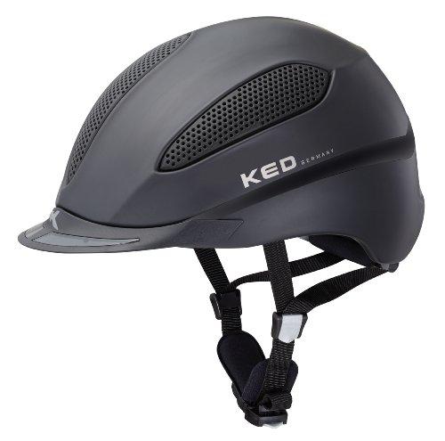 KED Helm Paso Black Matt, L (57-63)