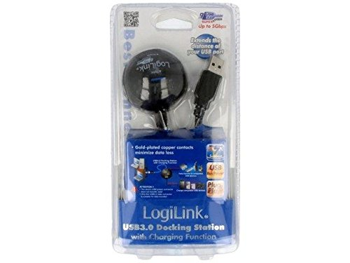 CU0035 Cable USB 3.0 USB A socket x2,USB A plug nickel plated 1.5m LOGILINK -