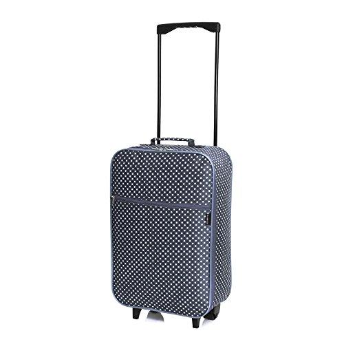 slimbridge-barcelona-equipaje-de-mano-ligera-lunares-azules
