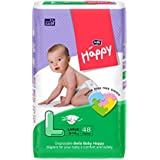 Bella Baby Happy Large Diapers (48 Pieces)