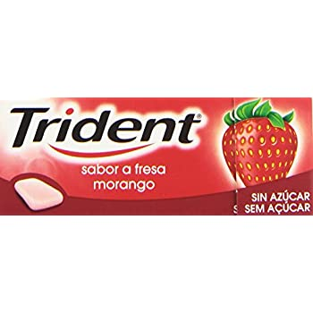 Trident Fresa Chicle...