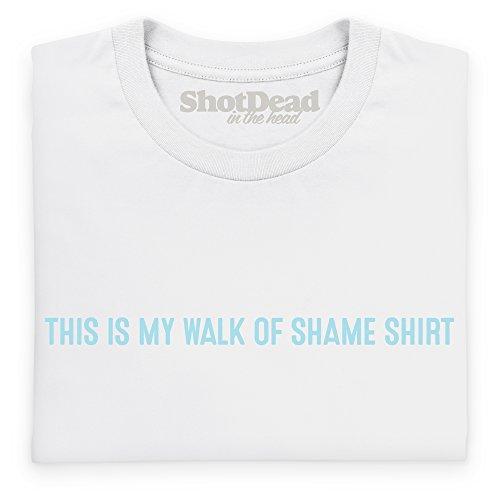Walk Of Shame Guys T-Shirt, Herren Wei