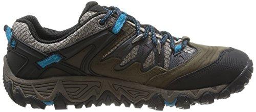 Merrell ALLOUT BLAZE GTX Herren Trekking- & Wanderhalbschuhe Braun (BOULDER / ALGIERS BLUE)