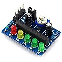 haoyishang Audio KA2284Indicador de nivel de potencia Indicador de batería Módulo Indicador de nivel de audio pro memoria