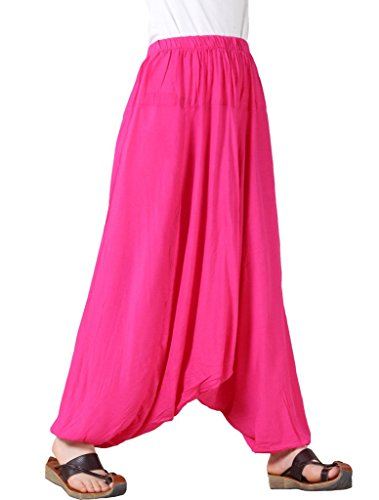 Vogstyle Donna Yoga/Pilates Pantaloni Cargo Rosa Rosso