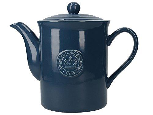 Creative tops royal botanic gardens kew richmond 8-cup vintage-style teiera, ceramica, blu navy, 29x 15.5x 15.5cm