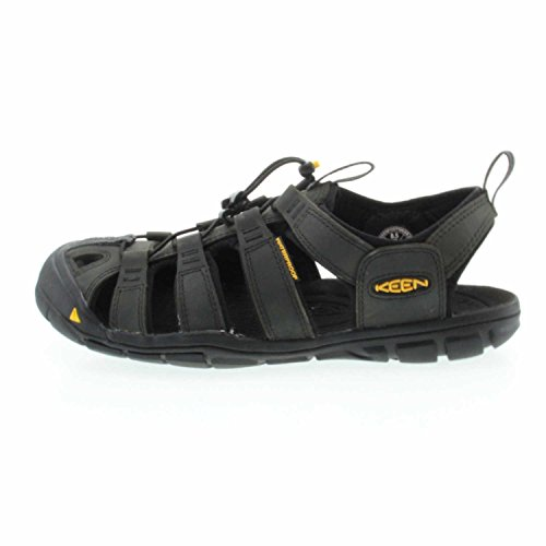 Keen Herren Clearwater Leather Cnx Sandalen MAGNET/BLACK