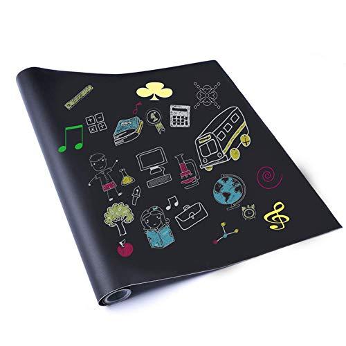 Extra große Kreidetafel Kontaktpapier, selbstklebende Kreidetafel Papier Vinyl Tapeten Aufkleber...