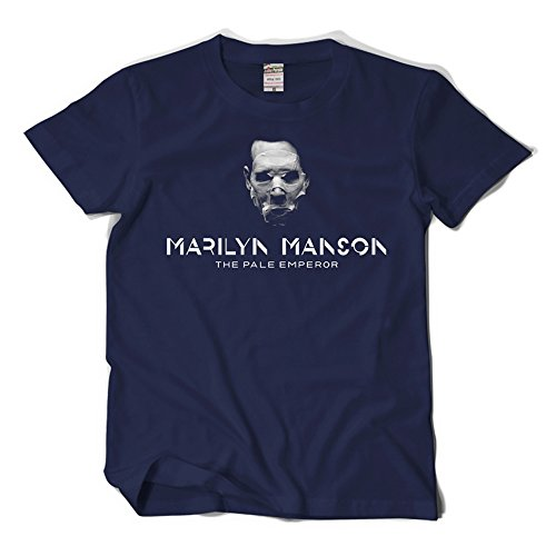 CosDaddy ® Marilyn Manson The Pale Emperor Hiphop Rock T-Shirt Cosplay Kostüm 25