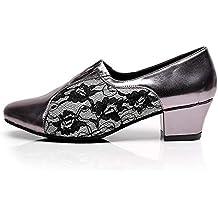 L@YC Zapatos De Baile De Las Mujeres Sala De Baile De La PU Rendimiento