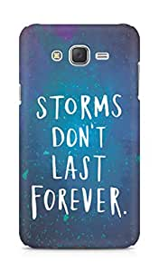 AMEZ storms dont last forever Back Cover For Samsung Galaxy J7